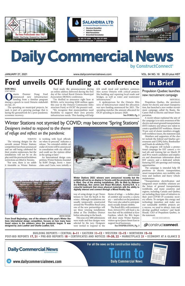 Daily Commercial News - Canadá