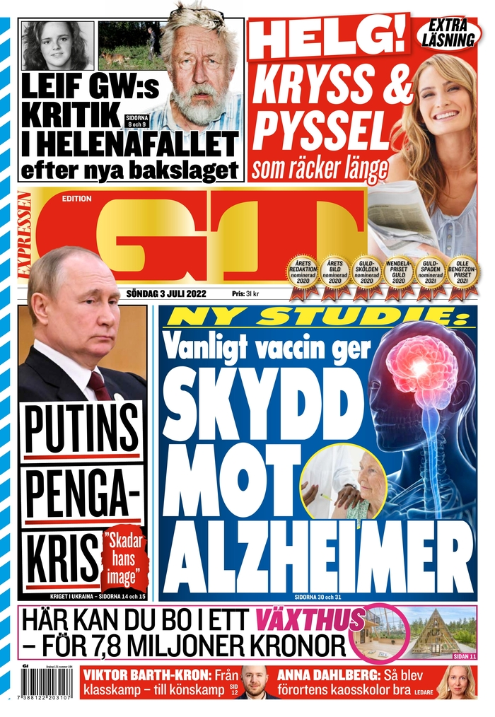 Expressen GT edition - Suécia